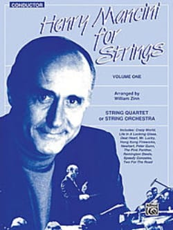 Henry Mancini for Strings - Volume 1 - Parts + Score laflutedepan