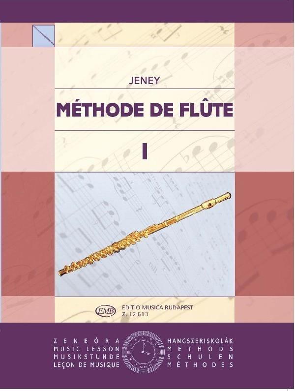 Méthode de flûte - Volume 1 - Zoltan Jeney - laflutedepan.com