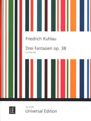 3 Fantaisies Opus 38 - Flûte solo - laflutedepan.com