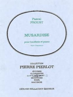Pascal Proust - Musardise - Partition - di-arezzo.co.uk