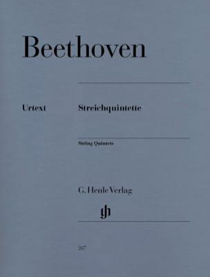 Quintettes à cordes BEETHOVEN Partition Quintettes - laflutedepan