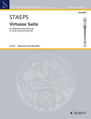Virtuose Suite Hans Ulrich Staeps Partition laflutedepan