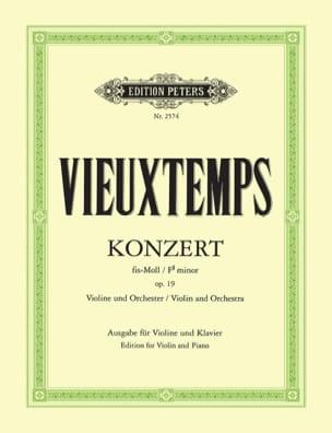 Concerto Violon n° 2 fa dièse mineur op. 19 VIEUXTEMPS laflutedepan