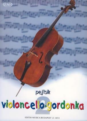Violoncello Gordonka Volume 2 Arpad Pejtsik Partition laflutedepan
