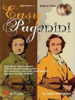 Easy Paganini Robert Van Rompaey Partition Violon - laflutedepan