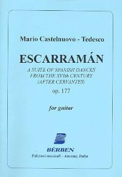 Escarraman, Opus 177 Mario Castelnuovo-Tedesco Partition laflutedepan