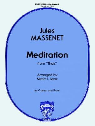 Méditation de Thaïs - Clarinette - MASSENET - laflutedepan.com