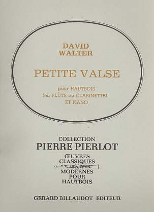 Petite valse David Walter Partition Hautbois - laflutedepan