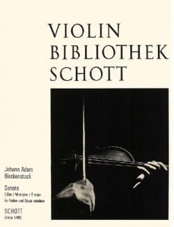 Sonate E-Dur op. 1 n° 4 für Violine und Basso continuo - laflutedepan.com