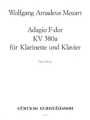 Adagio F-Dur KV 580a - Klarinette Oboe, Flöte, Violine Klavier laflutedepan
