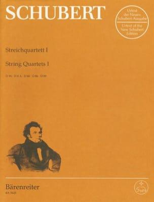 Streichquartette -Bd. 1 - Stimmen D. 94, 8a, 46, 86, 89 laflutedepan