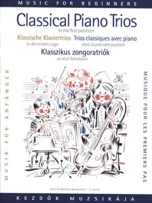 Classical Piano Trios for beginners laflutedepan