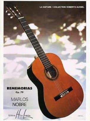 Rememorias op. 79 - Marlos Nobre - Partition - laflutedepan.com