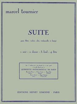 Suite Marcel Tournier Partition Quintettes - laflutedepan