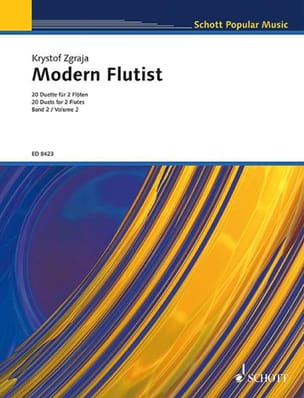 Modern Flutist Volume 2 Krzysztof Zgraja Partition laflutedepan