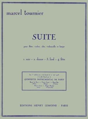 Suite - Marcel Tournier - Partition - Quintettes - laflutedepan.com