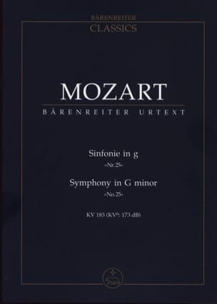 Symphonie Nr. 25 g-moll KV 183 - Partitur MOZART laflutedepan