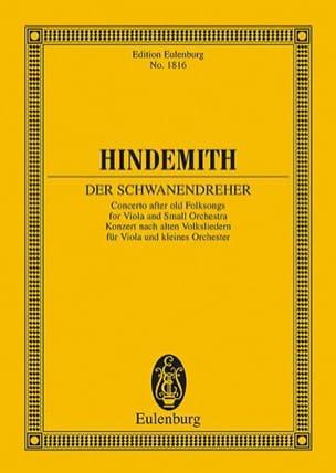Der Schwanendreher - Conducteur HINDEMITH Partition laflutedepan