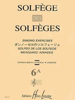 Volume 6a - S/A - Solfège des Solfèges Lavignac Partition laflutedepan