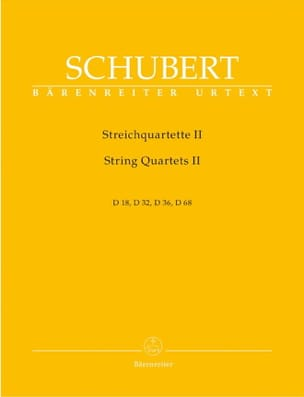 Streichquartette -Bd. 2 - Stimmen D. 18, 32, 36, 68 laflutedepan