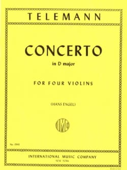 Concerto en ré majeur TWV 40 : 202 TELEMANN Partition laflutedepan