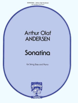 Sonatina Arthur Olaf Andersen Partition Contrebasse - laflutedepan