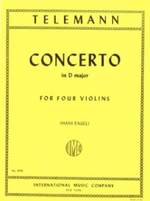 Concerto en ré majeur TWV 40 : 202 - TELEMANN - laflutedepan.com