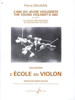 L' ABC du Jeune Violoniste Volume 3 Pierre Doukan laflutedepan
