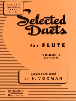 Selected Duets for Flute - Volume 2 Partition laflutedepan