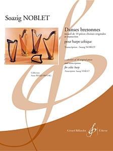 Danses Bretonnes Soazig Noblet Partition Harpe - laflutedepan