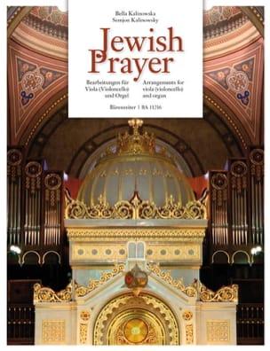 Jewish Prayer - Alto ou Violoncelle et Orgue Partition laflutedepan