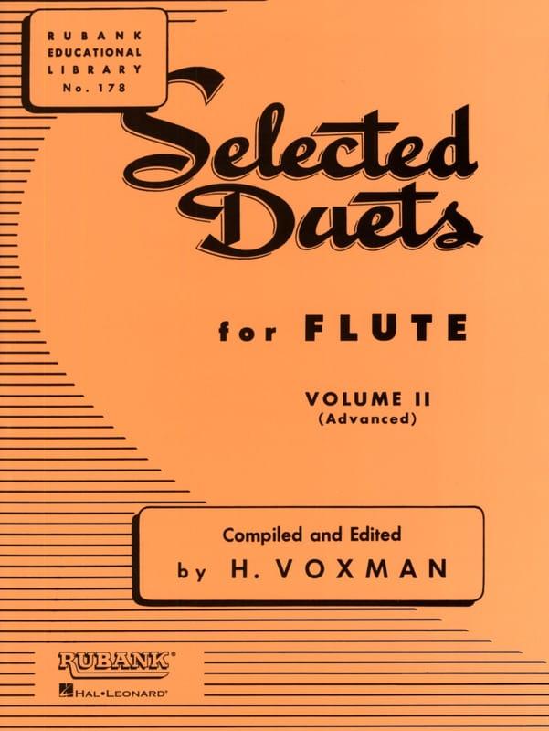 Selected Duets for Flute - Volume 2 - Partition - laflutedepan.com