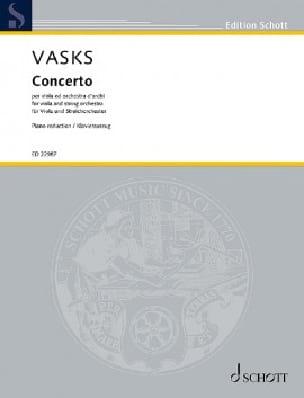 Concerto pour Alto - Peteris Vasks - Partition - laflutedepan.com