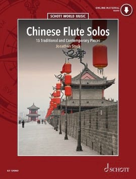 Chinese Flute Solos Jonathan Stock Partition laflutedepan