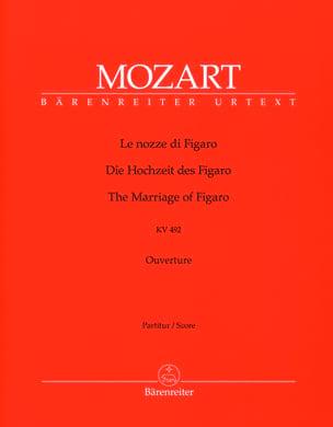 Le nozze di Figaro, Ouverture KV 492 - Partitur - laflutedepan.com