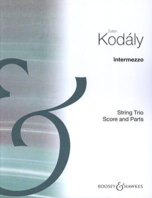 Intermezzo KODALY Partition Trios - laflutedepan