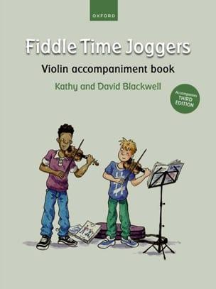 Fiddle Time Joggers - Violon accompaniment book laflutedepan
