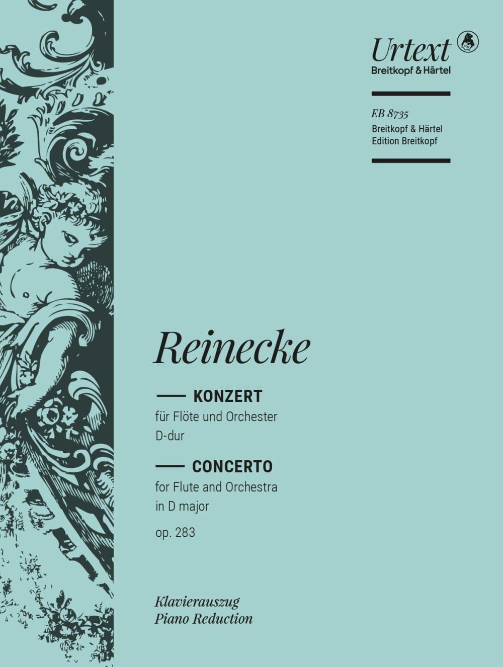 Konzert für Flöte D-Dur op. 283 - Flûte et piano - laflutedepan.com