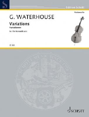 Variations - Graham Waterhouse - Partition - laflutedepan.com