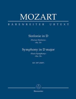 Symphonie D-Dur Pariser Sinfonie KV 297 MOZART Partition laflutedepan