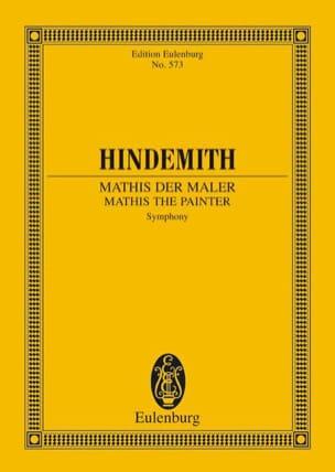 Sinfonie Mathis der Maler - Partitur HINDEMITH Partition laflutedepan