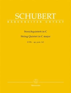 Streichquintett in C Dur - D 956 op. post. 163 SCHUBERT laflutedepan