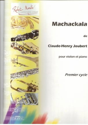 Claude-Henry Joubert - Machackala - Partition - di-arezzo.fr