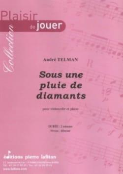 Sous une Pluie de Diamants André Telman Partition laflutedepan