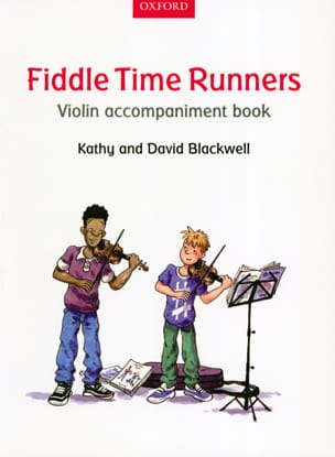 Fiddle Time Runners - Violon accompaniment book laflutedepan