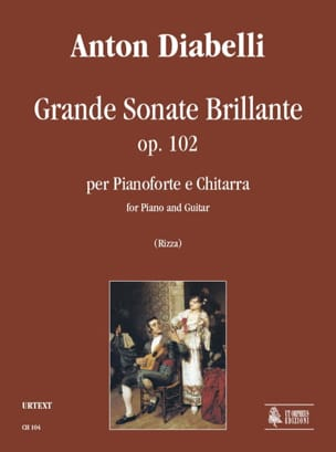 Grande Sonate Brillante - Guitare et Piano DIABELLI laflutedepan