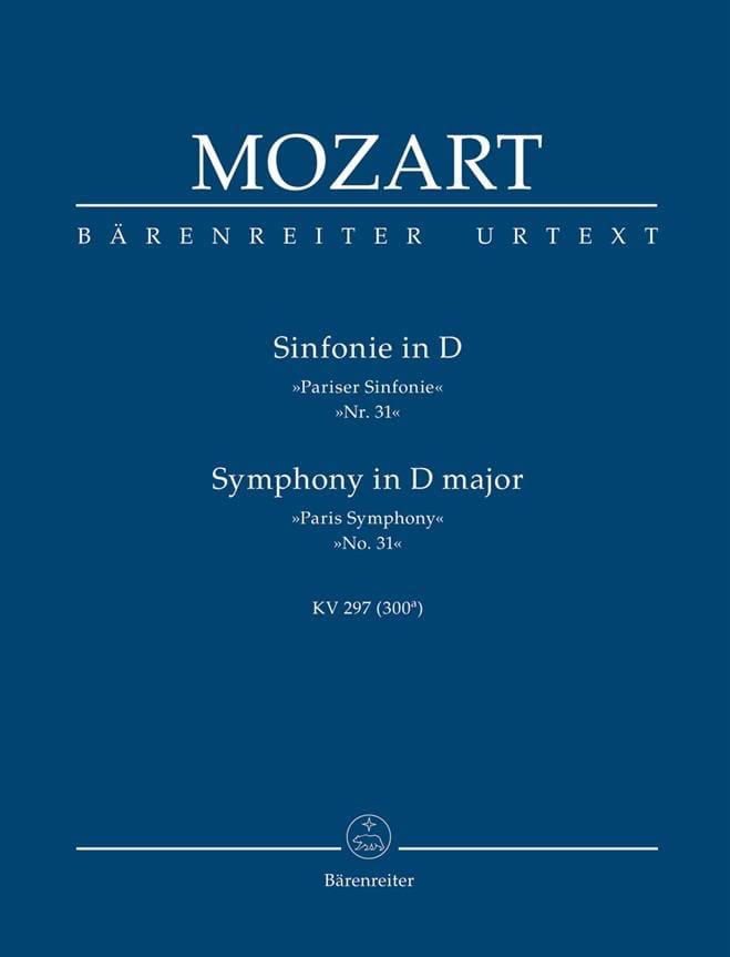 Symphonie D-Dur Pariser Sinfonie KV 297 - MOZART - laflutedepan.com