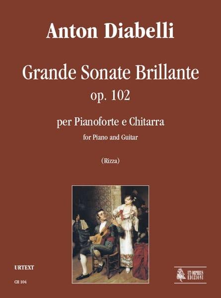 Grande Sonate Brillante - Guitare et Piano - laflutedepan.com