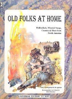 Old Folks at Home Karl Bruckner Partition Guitare - laflutedepan