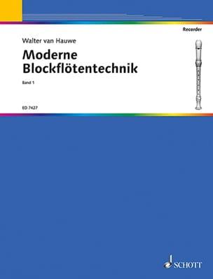 Moderne Blockflötentechnik - Bd 1 Walter van Hauwe laflutedepan